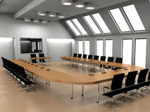 Conference of halls Royalty Free Stock Image