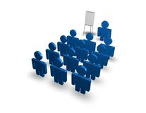 Conference illustration isolated Stock Photo