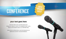 Conference illustration Royalty Free Stock Photo