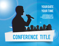 Conference illustration Royalty Free Stock Image