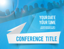 Conference illustration Royalty Free Stock Images