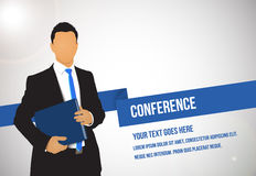 Conference illustration Stock Photos