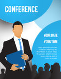 Conference illustration Stock Photography
