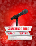 Conference illustration Stock Images