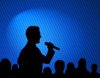 Conference illustration Stock Photo
