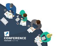 Conference illustration Royalty Free Stock Photos