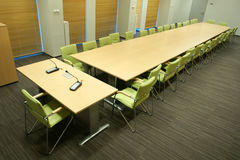 conference / meeting room Royalty Free Stock Photo