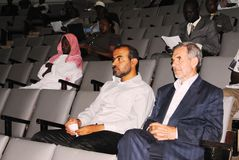 Conference participation. Participants during an Islamic conference in Nairobi Kenya Royalty Free Stock Photography