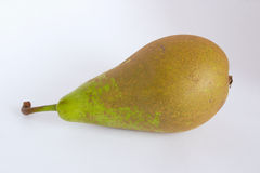 Conference pear. Isolated shot of a pear Royalty Free Stock Image