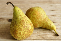 Conference Pears. The most commonly grown pear in Western Europe Stock Photos