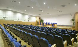 Conference and press hall. Horizontal. Royalty Free Stock Photos