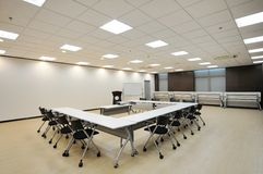 Conference Room. Modern design of the conference room stock image