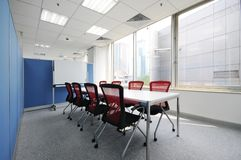 Conference Room. Modern design of the conference room stock photography