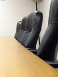 Conference Room. Table and chairs in an office conference room Royalty Free Stock Photography