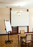 Conference room. A conference room ready for a meeting stock photography