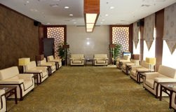 The conference room. A typical chinese conference room Royalty Free Stock Photos