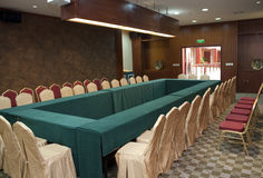 The conference room. A typical chinese conference room Stock Photography
