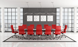 Conference room vector illustration