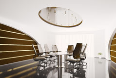 Conference room 3d Royalty Free Stock Photo