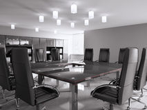 Conference room 3d Royalty Free Stock Photos