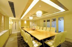Conference Room. Modern design of the conference room royalty free stock photography