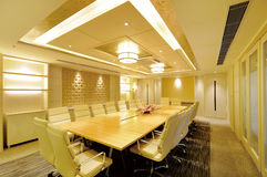 Conference Room. Modern design of the conference room royalty free stock images