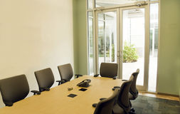 Conference Room. A small modern conference room for office meeting Stock Images