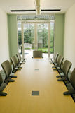 Conference Room. A small modern conference room for office meeting Royalty Free Stock Photos