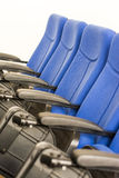 Conference Room Blue Chairs Stock Images