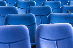 Conference Room Blue Chairs Royalty Free Stock Images