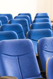 Conference Room Blue Chairs Stock Photos
