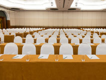 Conference room blurred for background. Stock Images