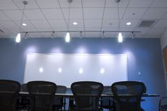 Conference Room Ceiling Stock Image