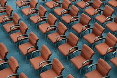 Conference room with chair Royalty Free Stock Photo
