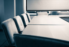 Conference room - chairs Royalty Free Stock Photo