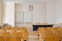Conference room with chairs Royalty Free Stock Images