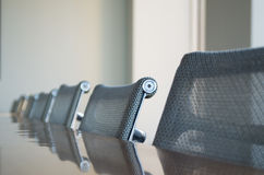 Conference room chairs Stock Images