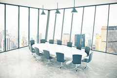 Conference room city Royalty Free Stock Image