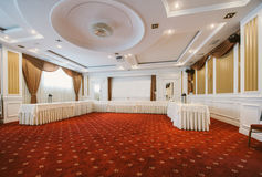Conference room in classic style Royalty Free Stock Photos