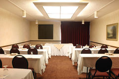 Conference Room - Classroom Style. Shot of an upscale conference room stock image