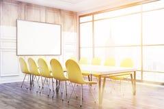 Conference room corner in New York Stock Photo