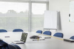 Conference room in corporation facility Royalty Free Stock Image