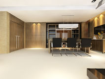 Conference room vector illustration