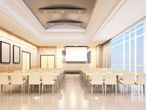 Conference room design Stock Photography