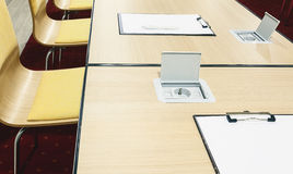 Conference Room Details Royalty Free Stock Image