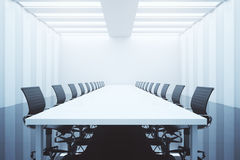 Conference room equipment Stock Photo