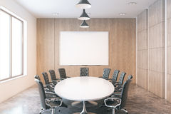 Conference room front Royalty Free Stock Photos