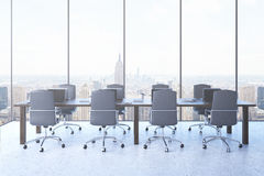 Conference room front view Royalty Free Stock Photo