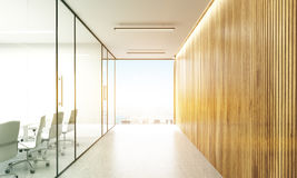 Conference room and hallway toning Royalty Free Stock Image