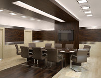 Conference room inerior. Royalty Free Stock Photos